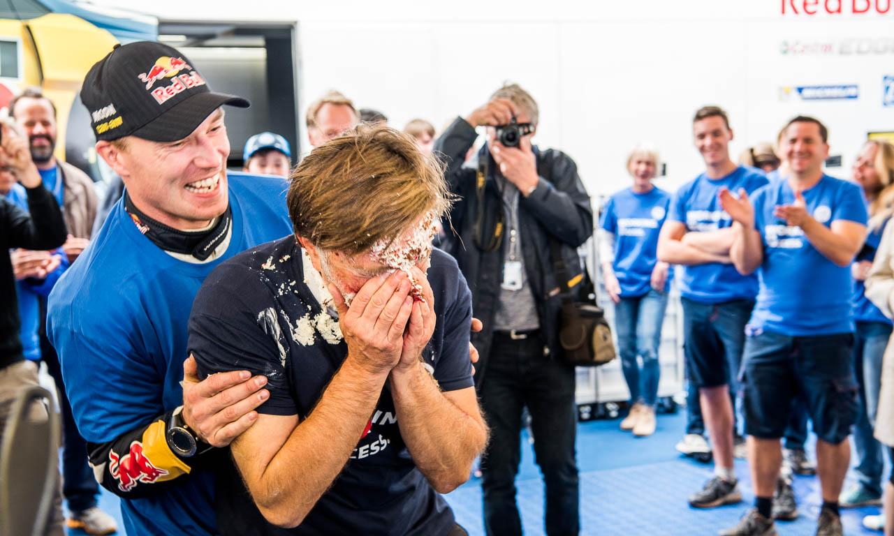 Rallye-Deutschland mit Volkswagen und Sebastien Ogier AUTOmativ.de Benjamin Brodbeck VW Polo R WRC Sieg