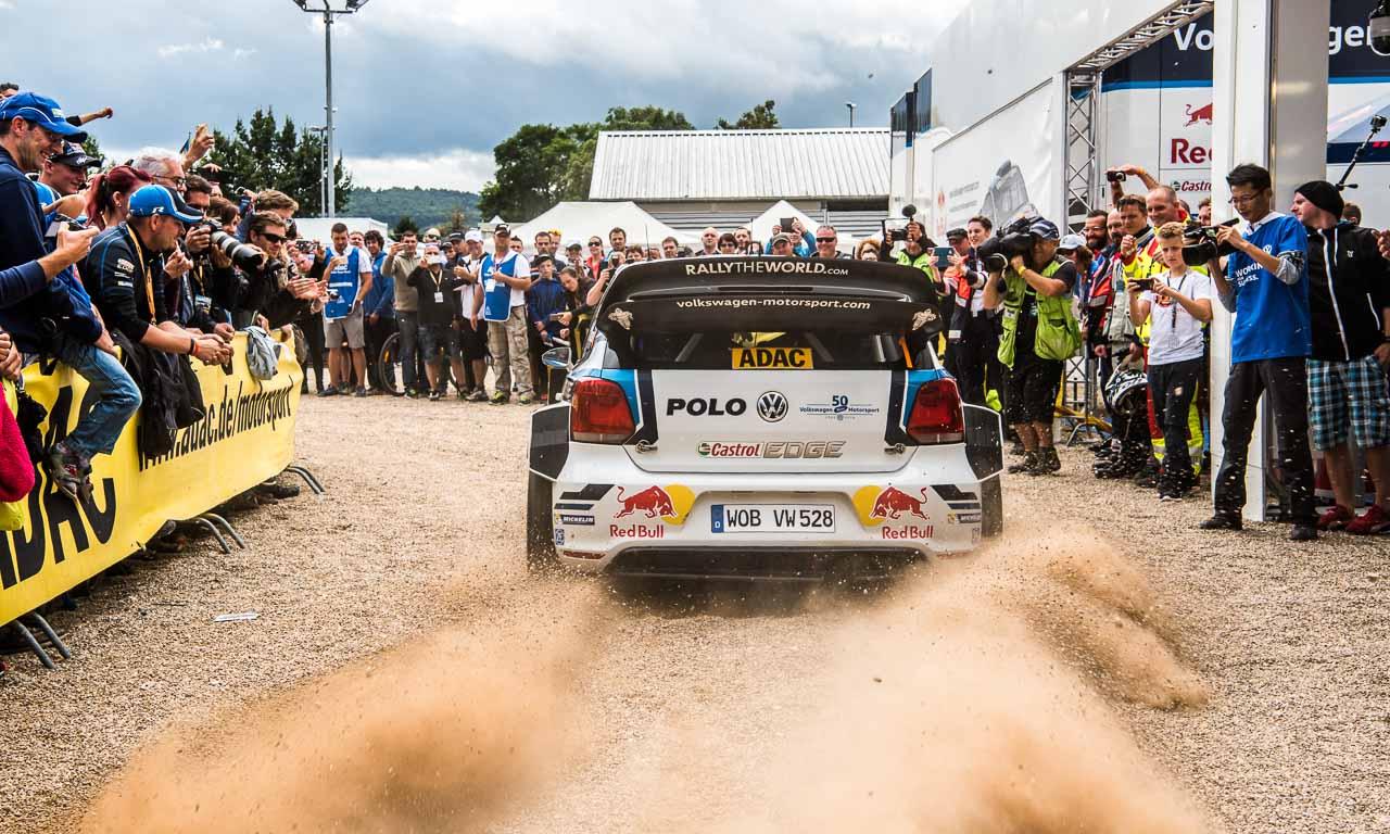 Rallye Deutschland mit Volkswagen und Sebastien Ogier AUTOmativ.de Benjamin Brodbeck VW Polo R WRC Sieg 39 - ADAC Rallye Deutschland 2016: Mit dem VW Polo R WRC Vollgas durch Trier