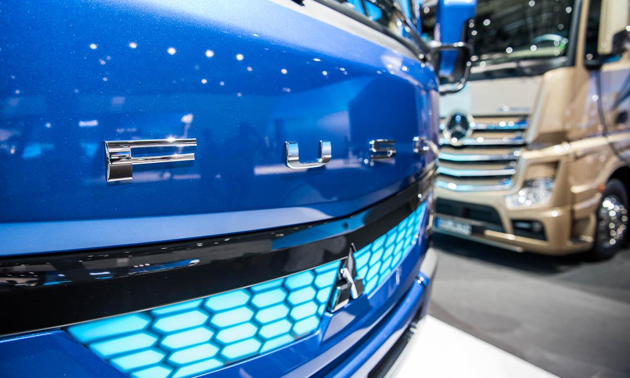 Fuso ist eine Gemeinschaftskooperation von Mitsubishi und Daimler - und geht seit der aktuellen IAA Nutzfahrzeuge nun auch elektrisch.