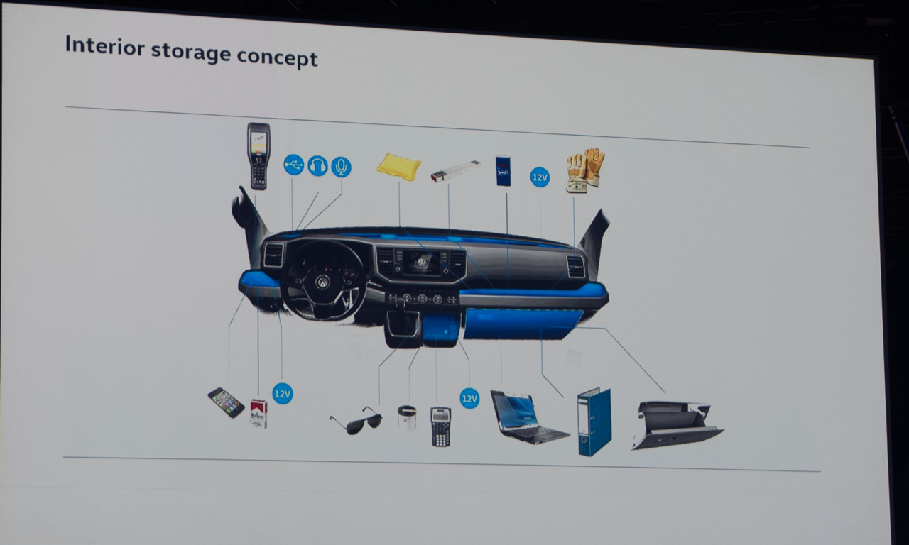 2017 Volkswagen Nutzfahrzeuge Crafter Weltpremiere erster Eindruck und Walkaround der verschiedenen Ausfuehrungen 14 - Der neue 2017 VW Crafter ist 1.500 Euro günstiger - Unser erster Eindruck