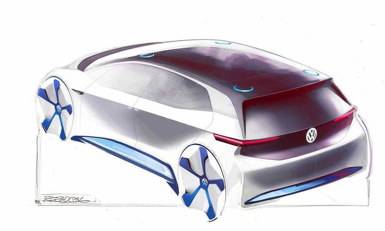 Volkswagen-E-Studie-Paris-Autoshow-Elektro-AUTOmativ.de-Pariser-Autosalon