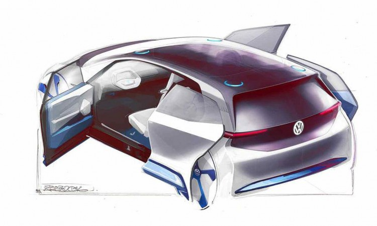 Volkswagen Elektro-Design-Studie in Paris: Eine neue Ära – jetzt endlich?