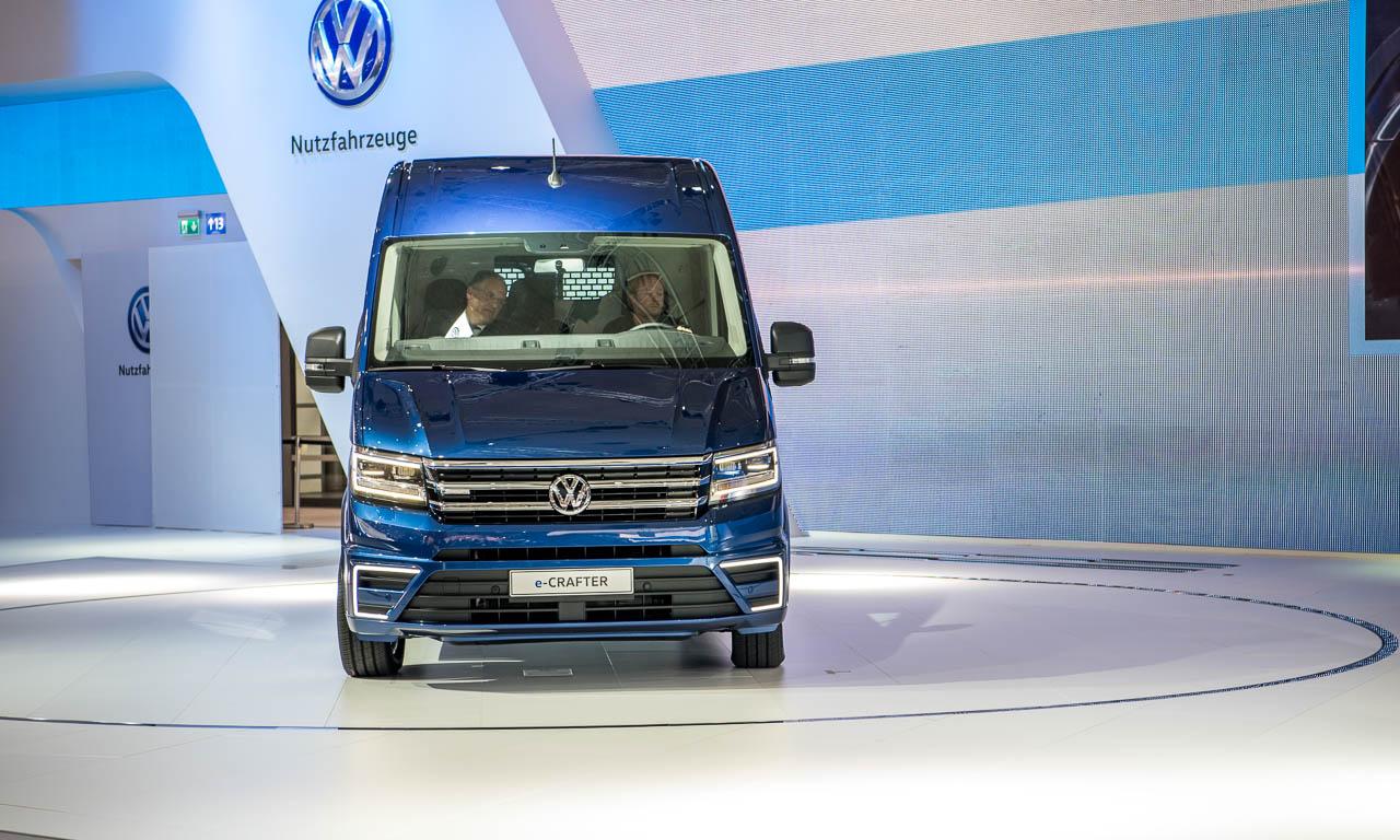 Volkswagen Nutzfahrzeuge e Crafter IAA2016 2 - Volkswagen e-Crafter kommt mit 200 Kilometern Reichweite schon 2017