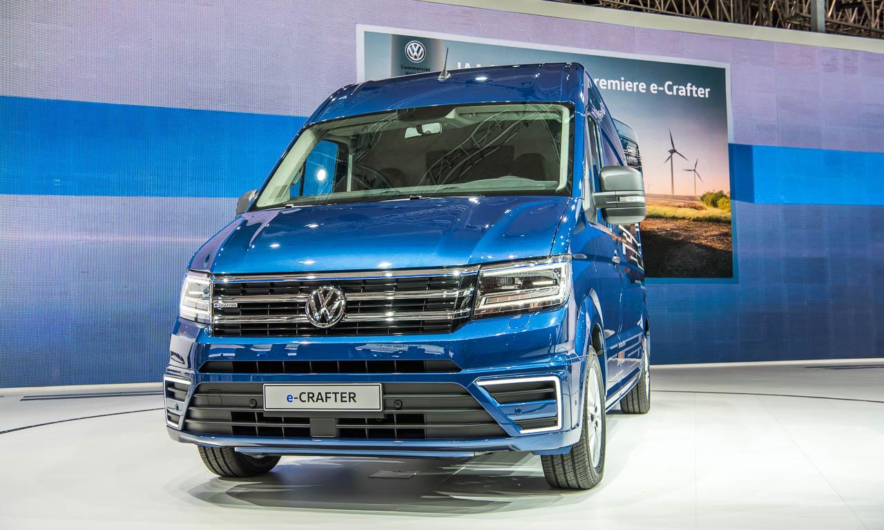 Volkswagen E Crafter Kommt Mit 200 Kilometern Reichweite