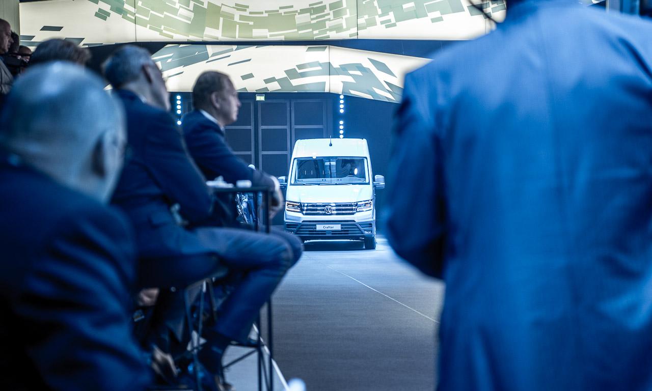 Volkswagen RIO MAN VW Crafter IAA 2016 e Crafter Volkswagen Nutzfahrzeuge VW Nutzfahrzeuge 5 - Volkswagen e-Crafter: Großer Bulli kommt schon bald elektrisch