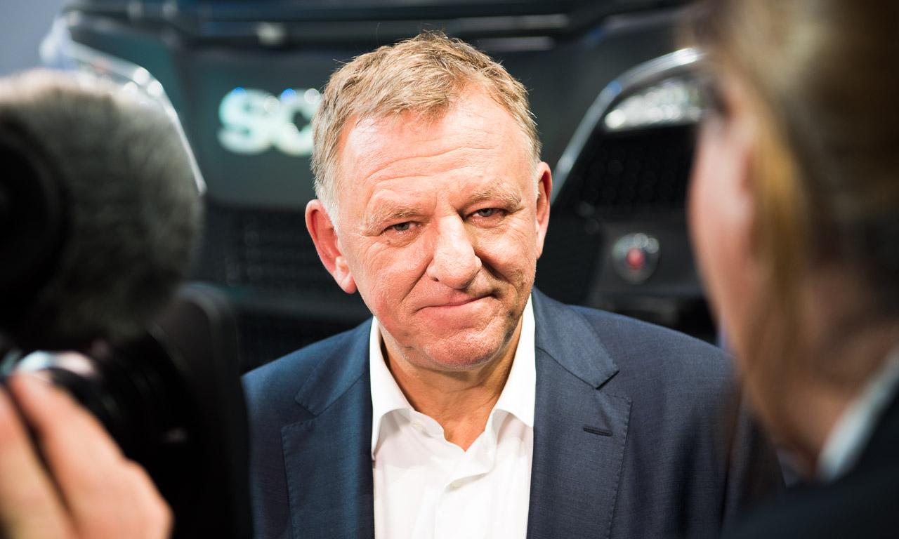 Der Herr über die Trucks: Andreas Renschler verantwortete den schäbischen Konkurrenzbetrieb von Daimler, wechselte vor kurzer Zeit (noch unter Piech) dann zu Volkswagen
