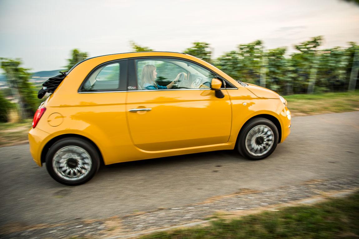 Fiat 500C im Test bei AUTOmativ.de und Benjamin Brodbeck Herbsttage in und um Stuttgart Shooting Model Stefanie Menne