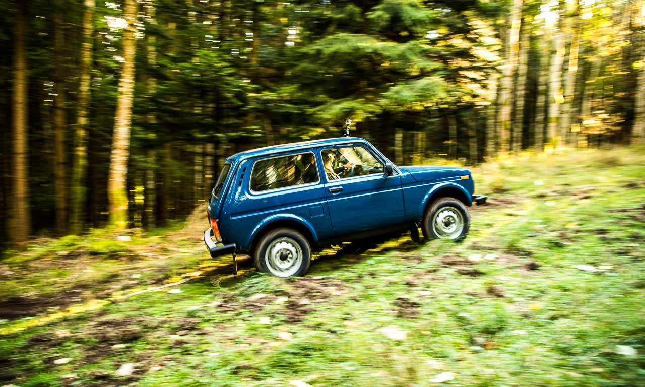 Lada 4x4 Niva Taiga im Test in den Vogesen im Elsass Frankreich Lada kommt ueberall durch guenstigster SUV Offroad AUTOmativ 13 - Russland trifft Frankreich: Mit dem Lada 4x4 durch die Vogesen