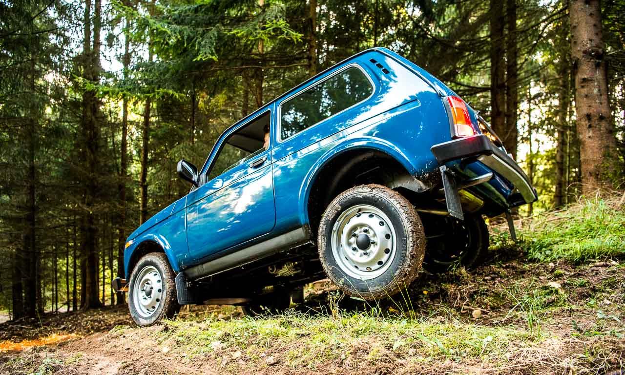 Lada 4x4 Niva Taiga im Test in den Vogesen im Elsass Frankreich Lada kommt ueberall durch guenstigster SUV Offroad AUTOmativ 22 - Russland trifft Frankreich: Mit dem Lada 4x4 durch die Vogesen