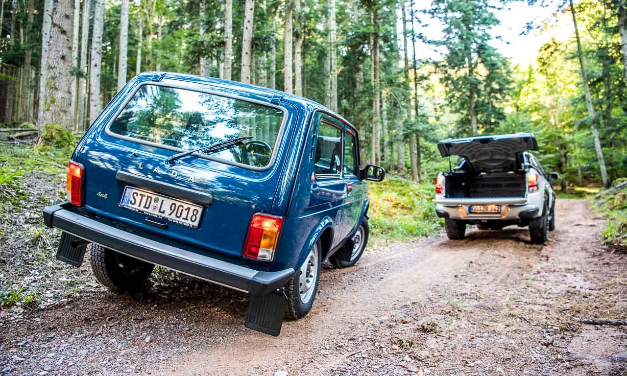 Lada 4x4 Niva Taiga im Test in den Vogesen im Elsass Frankreich Lada kommt ueberall durch guenstigster SUV Offroad AUTOmativ 9 - Lada Niva, Taiga, 4x4 im Fahrbericht: Retro-Offroad-Maschine