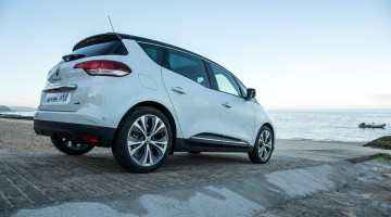 Der neue Renault Scénic Hybrid-Diesel kann nicht rein elektrisch fahren