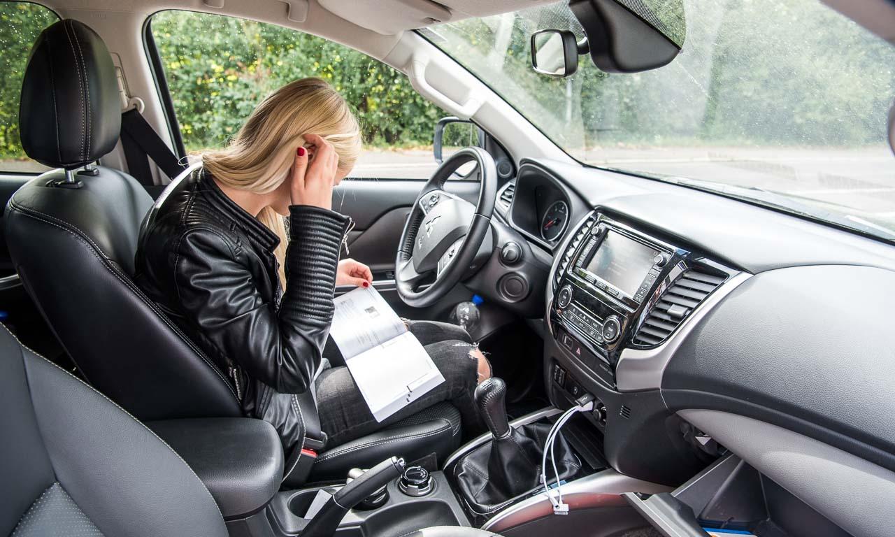 Nicht so einfach, das Navigations- bzw. Multimediasystem im Mitsubishi L200