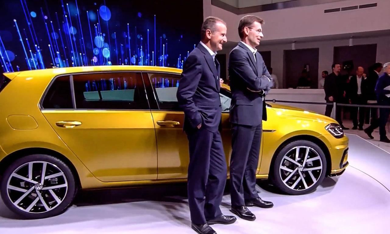 Neue VW Golf Familie 2017 Facelift Weltpremiere in Wolfsburg Golf R GTI GTE Variant 3 - Neues VW Golf 7 Facelift (2017): Das ändert sich beim neuen Modell