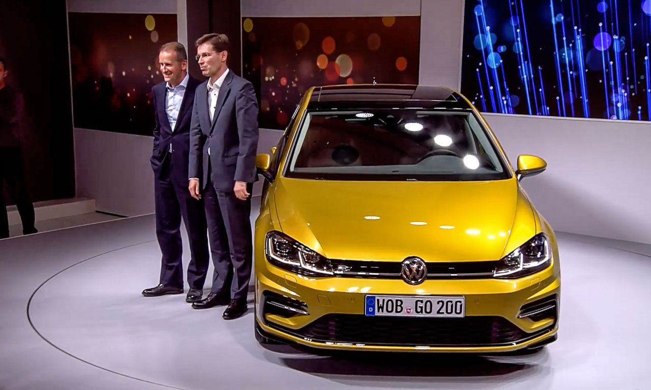 neues vw golf 7 facelift 2017 das ndert sich beim. Black Bedroom Furniture Sets. Home Design Ideas