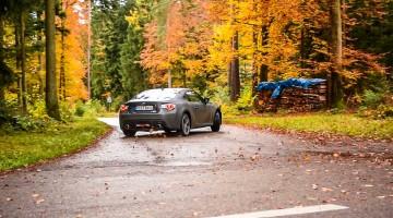 Herbst-Drifts mit einem Nippon-Racer sind das Schönste der Welt!