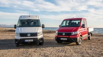 VW Crafter II: Erste Fahrt im neuen Jumbo-Volkswagen