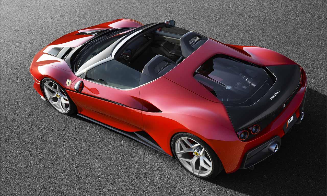 Ferrari J50 Japan 50 jahre 3 - Ferrari J50 als exklusive Sonderserie für Japan