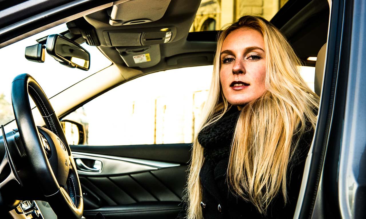 Infiniti Q50 Shooting in Wien mit Anna Modelshooting Benjamin Brodbeck AUTOmativ 18 - Deine aufregende Alternative bin ich! Anna und der Infiniti Q50