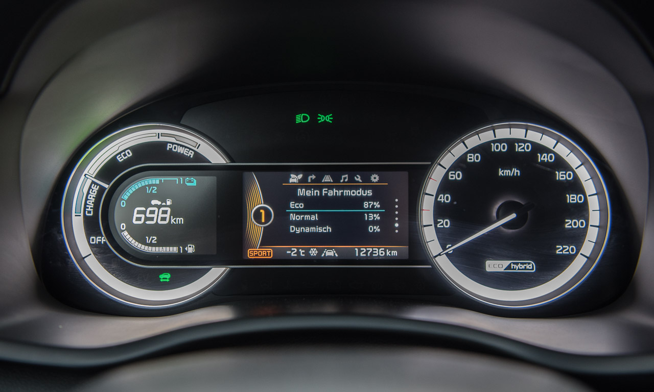 Kia Niro HEV Hybrid im Test Fahrbericht AUTOmativ.de Benjamin Brodbeck Kia Hybrid 47 - Kia Niro 1.6 Hybrid im Test: Hochwertiger Vordenker mit Reisemüdigkeit