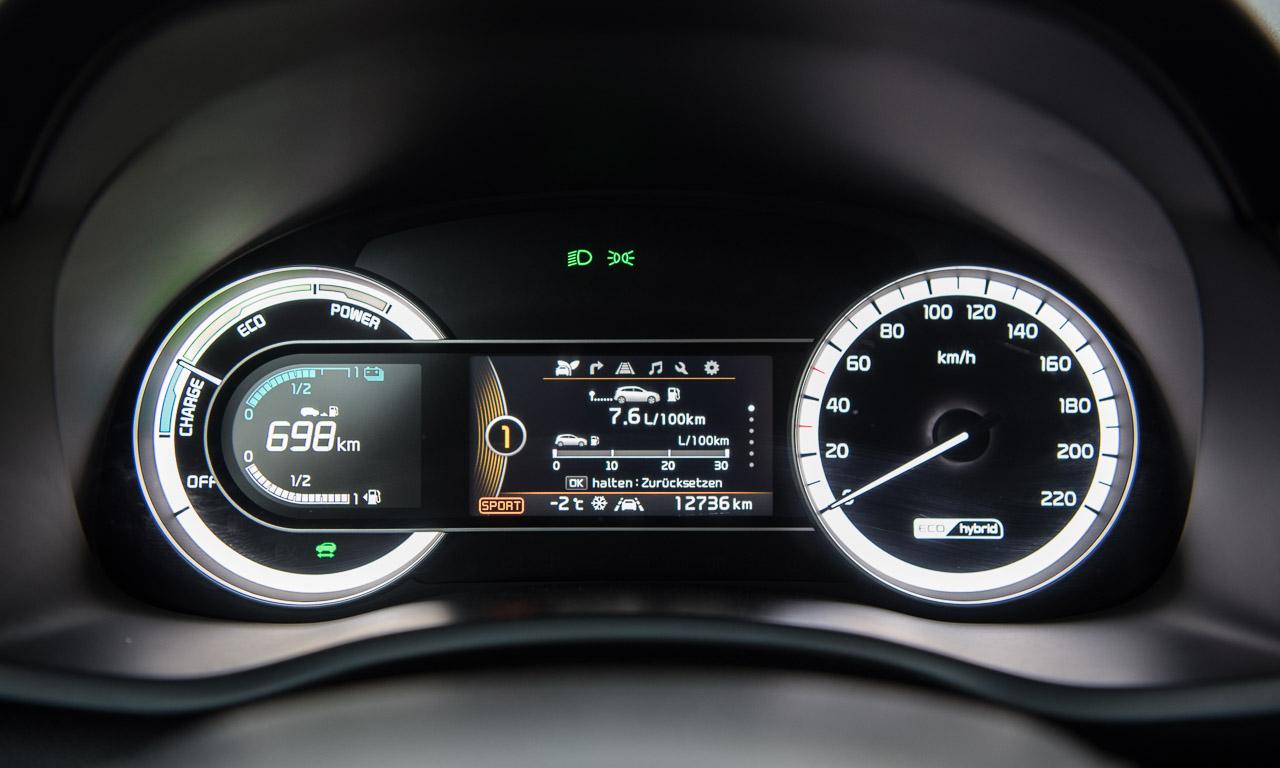 Kia Niro HEV Hybrid im Test Fahrbericht AUTOmativ.de Benjamin Brodbeck Kia Hybrid 49 - Kia Niro 1.6 Hybrid im Test: Hochwertiger Vordenker mit Reisemüdigkeit