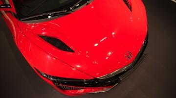 Die rote Flunder: Neuer Honda NSX mit 581 PS auf der Vienna Auto Show 2017