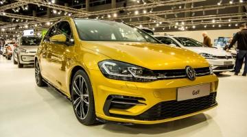 Erstkontakt mit dem VW Golf 7 Facelift auf der Vienna Auto Show 2017