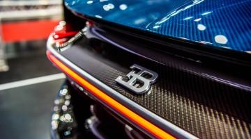 2,4 Millionen teurer Bugatti Chiron auf der Vienna Auto Show 2017!