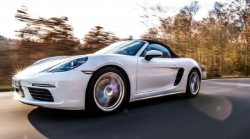 Fahrbericht Porsche 718 Boxster S: Hör mal wer da hämmert!