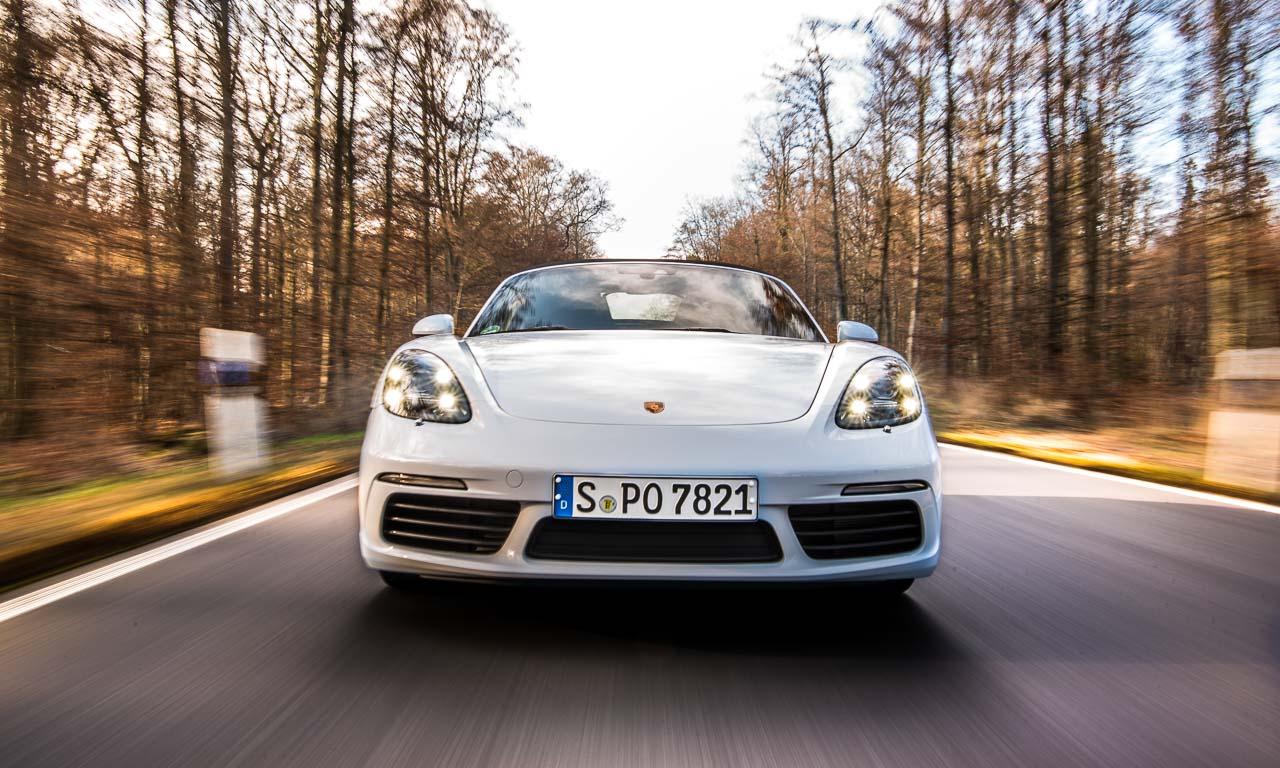 Porsche 718 Boxster S LQ 8 - Fahrbericht Porsche 718 Boxster S: Hör mal wer da hämmert!