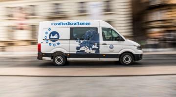 Mit dem VW Crafter in Budapest auf den Spuren der europäischen Handwerkskunst