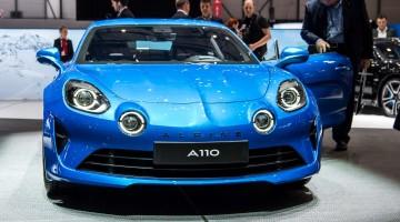 Alpine A110 auf dem Genfer Autosalon 2017: Ein ganz besonderes Revival