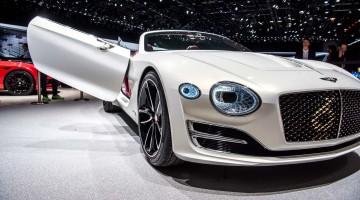 EXP 12: Bentley's Zukunft ist elektrisch – klingt komisch, ist aber so