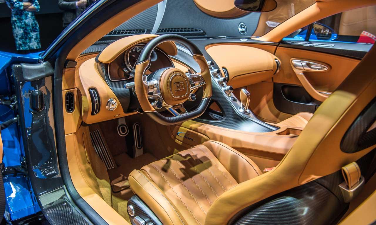 Bugatti Chiron Supercar Hypercar Volkswagen Chiron Benjamin Brodbeck AUTOmativ.de Autoblog Autosalon Genf 2016 Bugatti das schnellste Auto der Welt 450 Kmh 1.500PS 7 - Die Bernd Kussmaul GmbH bringt Glanz in den Jaguar F-Pace und Bugatti Chiron