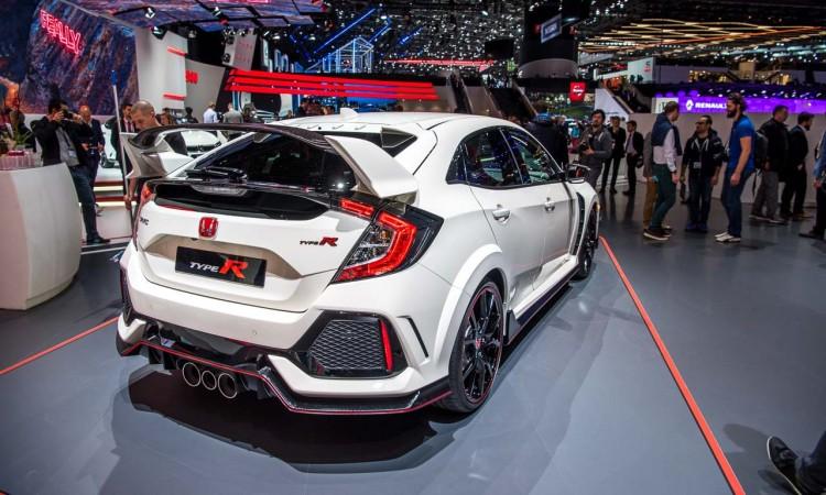 Erster Check: Honda Civic Type R auf dem Genfer Automobilsalon 2017