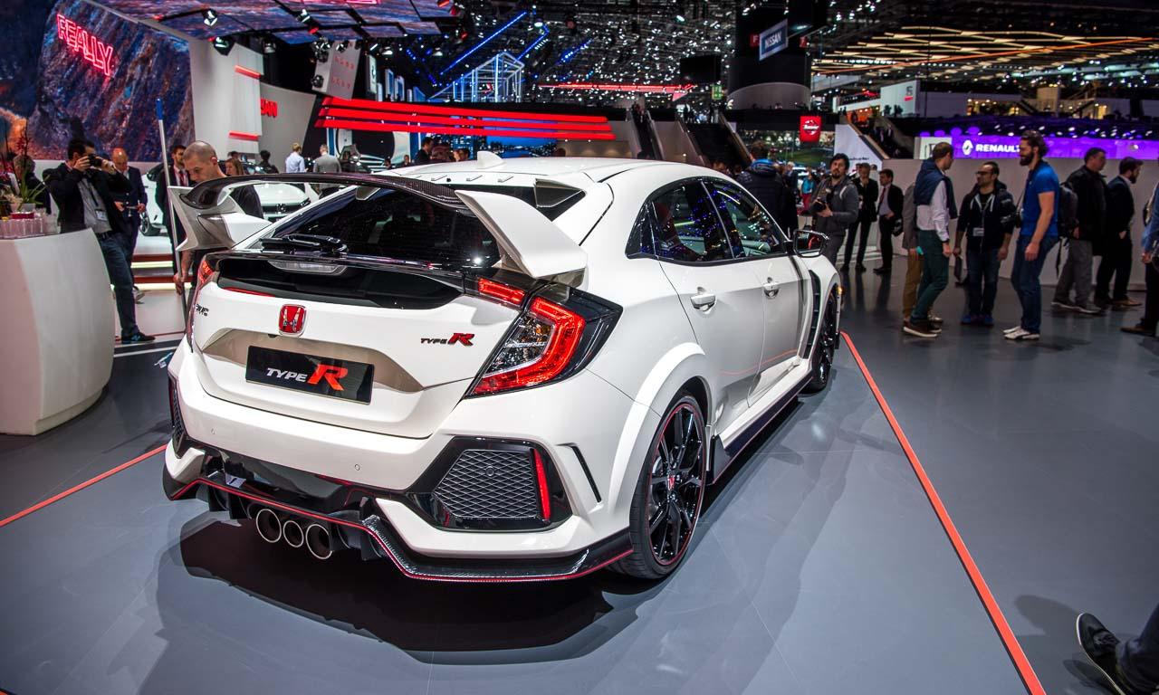 Honda Civic Type R auf dem Genfer Automobilsalon 2017