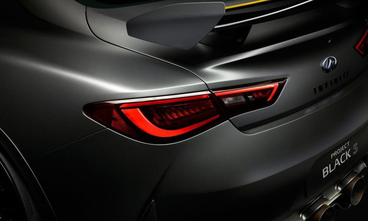 Infiniti Project Black S Infiniti Q60 Sport KERS Infiniti Renault F1 AUTOmativ.de Autosalon Genf 2017 3 - Infiniti Q60 Black S Konzept ist ein 500 PS Monster mit F1 KERS Hybrid