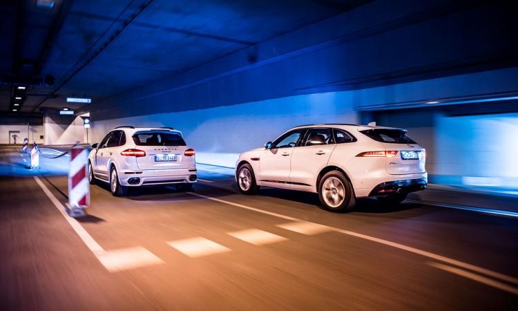 Jaguar F-Pace S – Porsche Cayenne S Diesel: Voll gegensätzlich, oder?