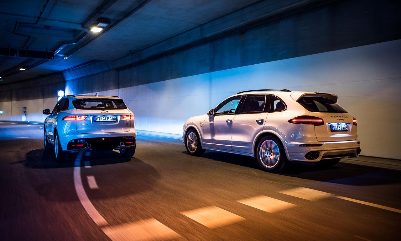 Jaguar F Pace S vs Porsche Cayenne S Diesel im Vergleich Bernd Kussmaul GmbH AUTOmativ.de Benjamin Brodbeck 9 - Jaguar F-Pace S - Porsche Cayenne S Diesel: Voll gegensätzlich, oder?