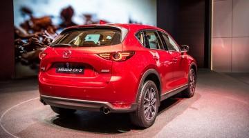 Mazda CX-5 auf dem Genfer Autosalon 2017
