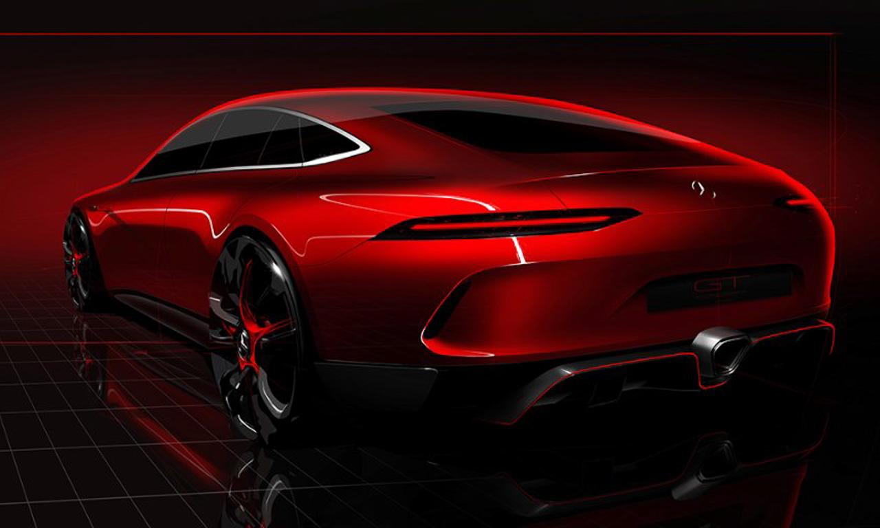 Mercedes-AMG-GT-Fourdoor-Concept-Viertuerer-Porsche-Panamera-Rivale-AUTOmativ.de-Genfer-Automobilsalon-2017