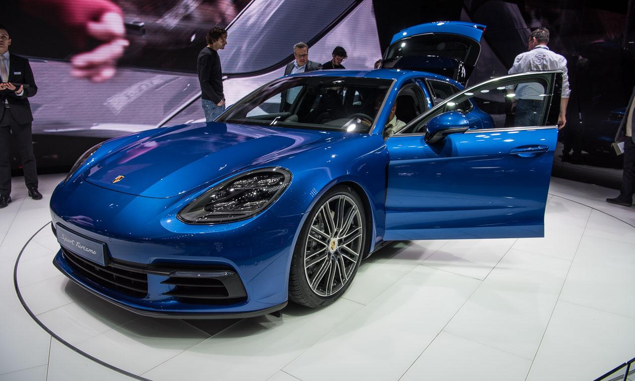 Porsche Panamera Sport Turismo Autosalon Genf 2017 AUTOmativ.de Benjamin Brodbeck 7 - Porsche Panamera Sport Turismo auf dem Autosalon Genf 2017