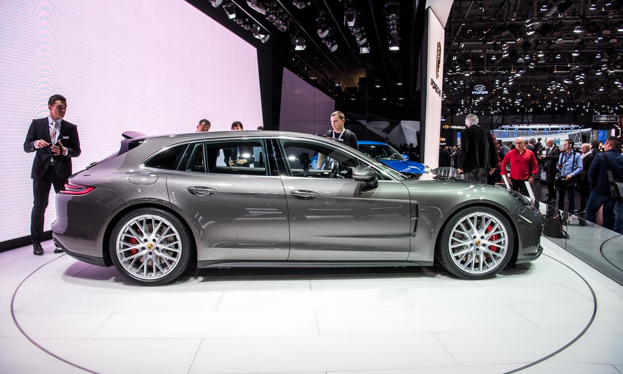 Porsche Panamera Sport Turismo Autosalon Genf 2017 AUTOmativ.de Benjamin Brodbeck - Porsche Panamera Sport Turismo auf dem Autosalon Genf 2017