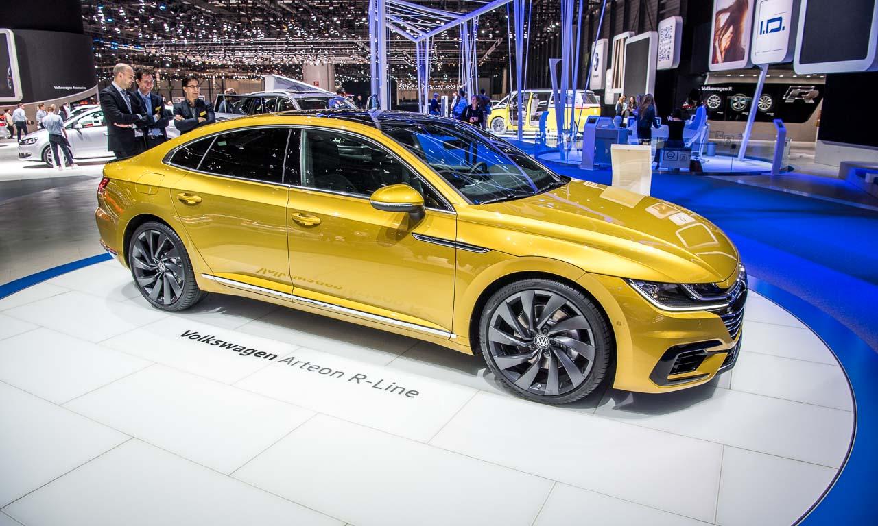 VW Arteon auf dem Genfer Autosalon 2017 AUTOmativ.de 2 - Endlich haben wir den A7 aus Wolfsburg: Der VW Arteon kann bestellt werden!