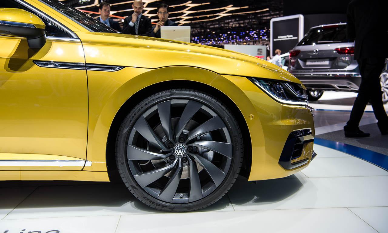 VW Arteon auf dem Genfer Autosalon 2017 AUTOmativ.de 4 - Endlich haben wir den A7 aus Wolfsburg: Der VW Arteon kann bestellt werden!
