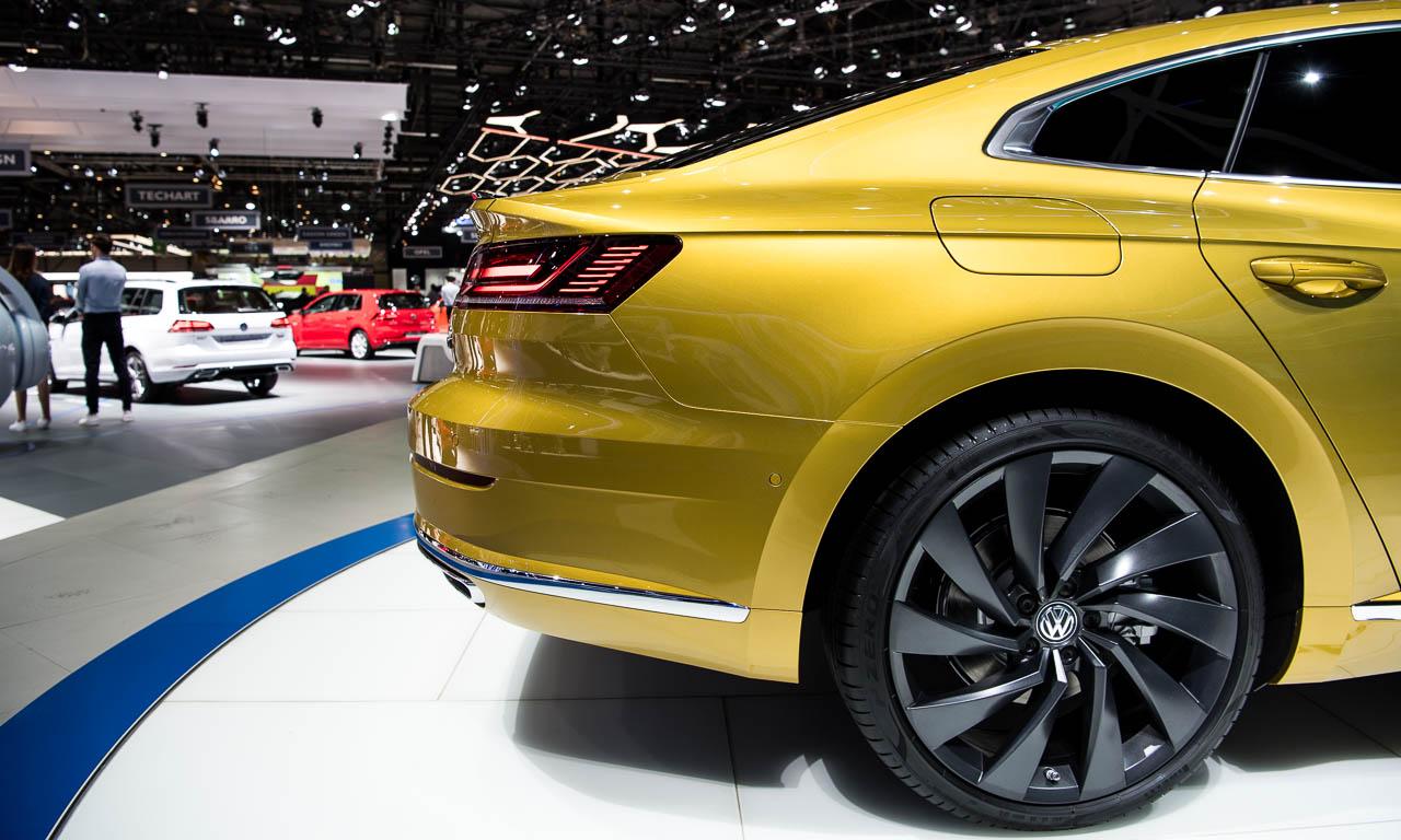 VW Arteon auf dem Genfer Autosalon 2017 AUTOmativ.de 5 - Endlich haben wir den A7 aus Wolfsburg: Der VW Arteon kann bestellt werden!
