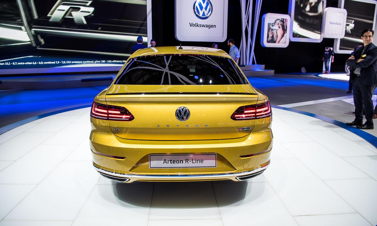 VW Arteon auf dem Genfer Autosalon 2017 AUTOmativ.de  - Endlich haben wir den A7 aus Wolfsburg: Der VW Arteon kann bestellt werden!