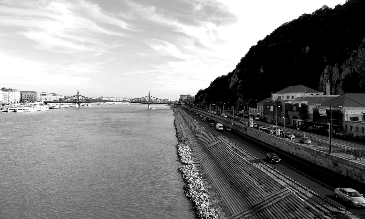 Budapest entlang der Donau