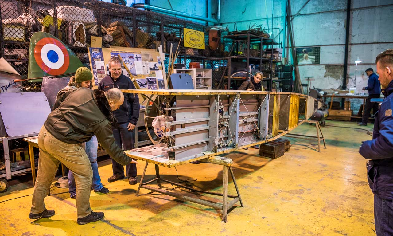 Nächstes Projekt: Die Restauration eines weiteren leichten Propeller-Flugzeugs