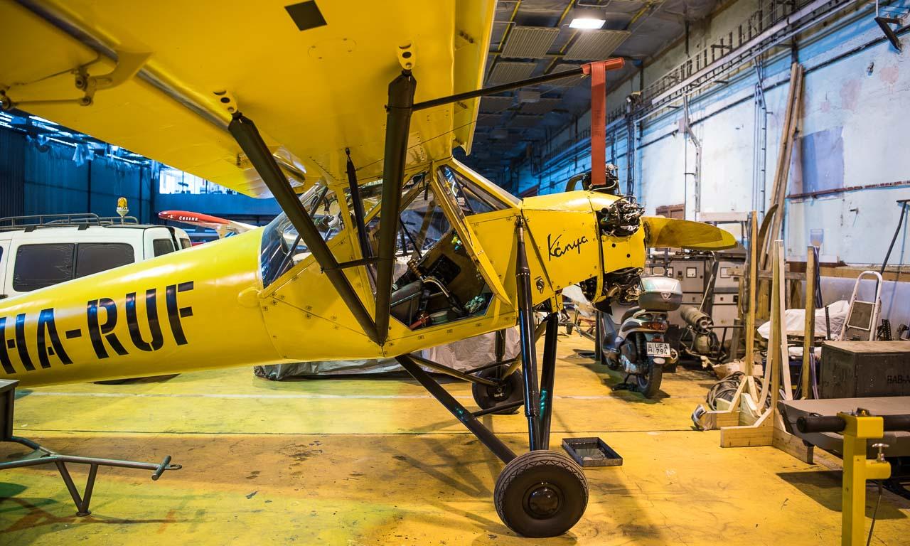 Fieseler Storch Fi 156 auf ungarisch: weltweit 2 Einheiten gibt es noch. Das eine Flugzeug gehört dem ungarischen Staatsministerium, das andere ist in Privatbesitz.