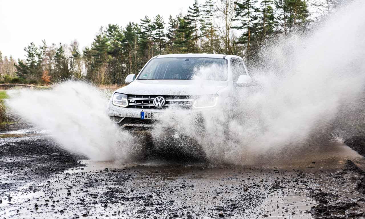 Volkswagen VW Amarok V6 Aventura Edition 224 PS Dieselmotor von Audi im Pick Up von Volkswagen SUV AUTOmativ.de Benjamin Brodbeck Volkswagen Nutzfahrzeuge 13 - Mit dem VW Amarok V6 TDI mit 204 PS in den Schlamm - Offroad-Test